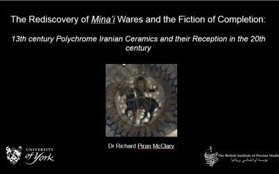 The rediscovery of mina'i wares and the fiction of completion: 13th century polychrome Iranian ceramics and their reception in the 20th century