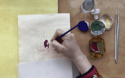 A Note Persian Miniature Painting: Materials and Techniques