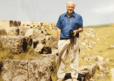 Professor David B Stronach, OBE (1931 – 2020)