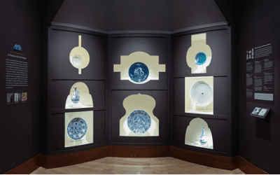 A Chini Khana in Boston: experimenting with the display of Persian ceramics