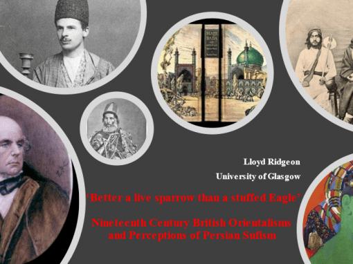Nineteenth-century British Orientalist perceptions of Persian Sufism