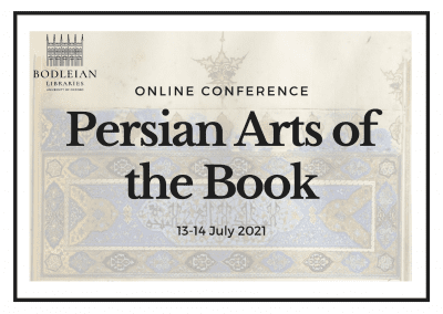 Persian Arts of the Book conference