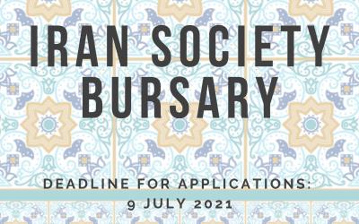 Iran Society Bursary